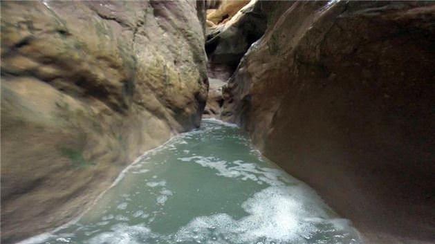 Doğa harikası kanyonu keşfettiler