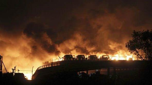 Çin'de büyük patlama- Çok sayıda yaralı var