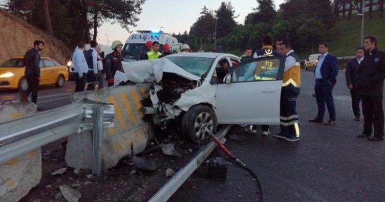 Kadıköy E-5 karayolunda kaza: 1 ölü