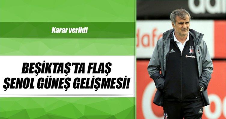 Beşiktaş, Şenol Güneş ile 2 yıllık sözleşme imzaladı