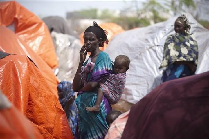 Somali'de insanlık dramı