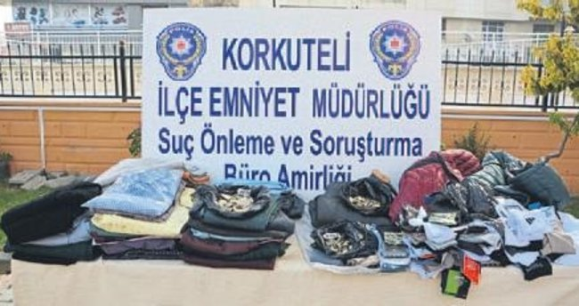 Pazar ve manav hırsızları yakalandı