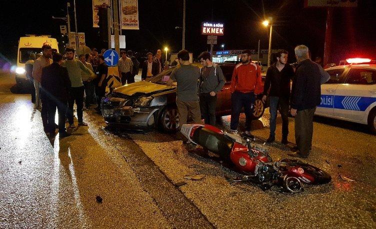 Düzce'de kazada yaralanan kişi kesilecek cezayı sordu