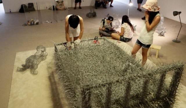 Sanat için 36 gün işkence