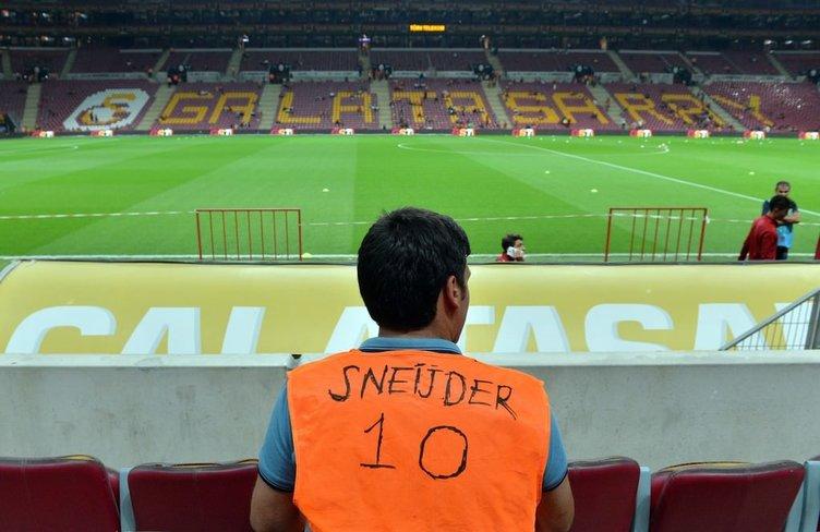 Galatasaray - Osmanlıspor maçından kareler!