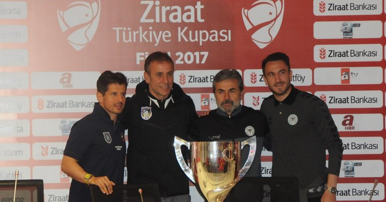 Ziraat Türkiye Kupası final maçı öncesi basın toplantısı