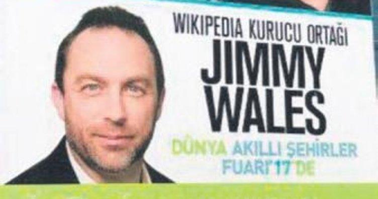 Wikipedia kurucusuna davet iptal edildi