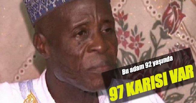 97 karısı var 'Evlenmeye devam' diyor
