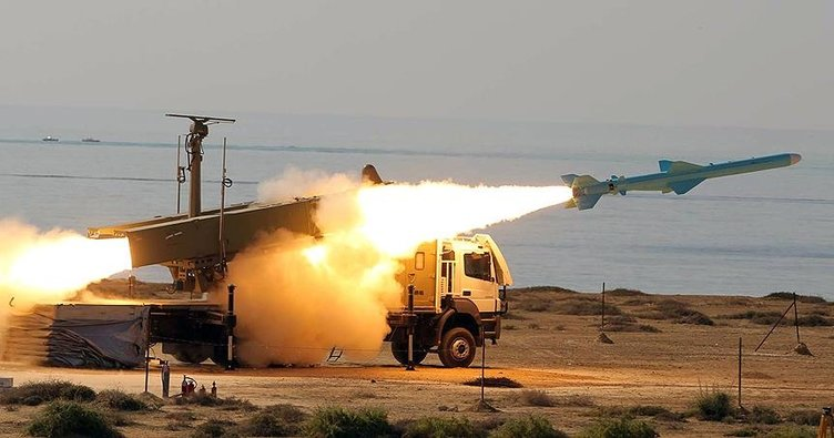 İran'dan Suriye'ye füze saldırısı!
