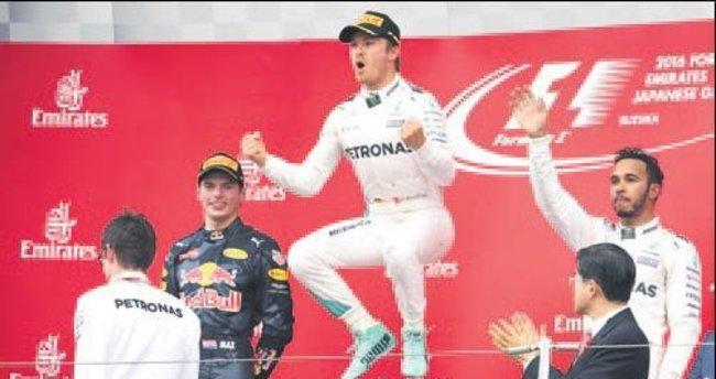 Japonya'dan Rosberg geçti