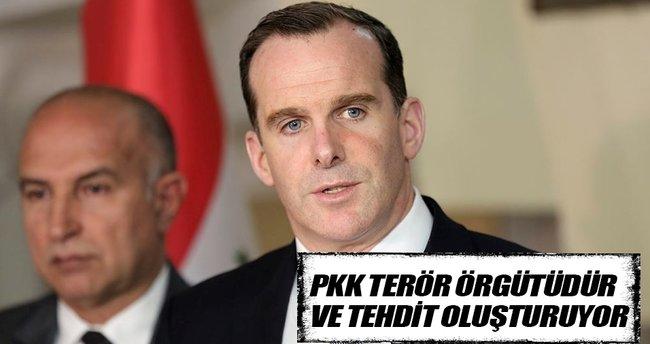 Brett McGurk: PKK tehdit oluşturuyor