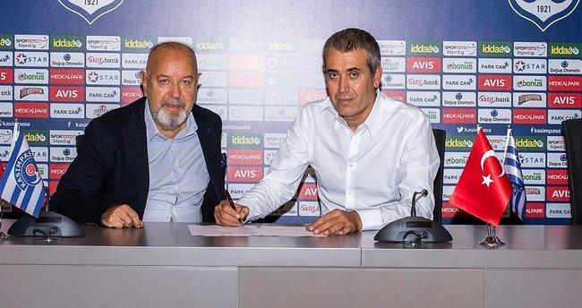 Kasımpaşa'nın yeni teknik direktörü Kemal Özdeş