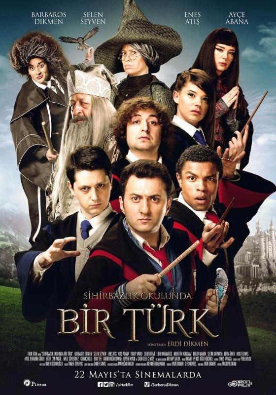 Sihirbazlık Okulunda Bir Türk  filminden kareler