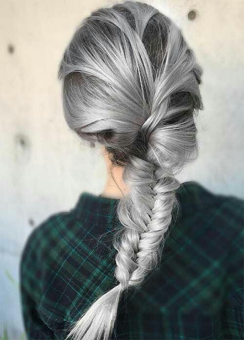 Evde, okulda, sporda, düğünde vazgeçilmez örgü saçlar