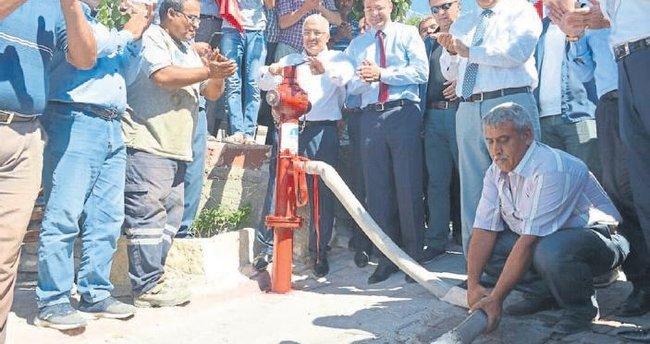 Silifke'de 6 mahalle içme suyuna kavuştu