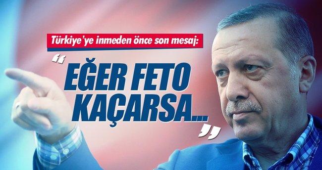Erdoğan: Başka ülkeye giderse markaj yaparız