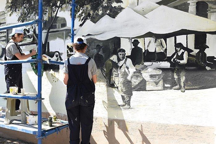 Trafolar üç boyutlu resimlerle süsleniyor