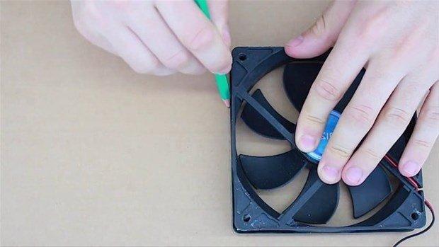 Sıcaklara öyle bir çözüm buldu ki!