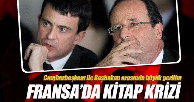 Hollande ile Valls arasında kitap krizi