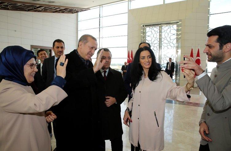Cumhurbaşkanı Erdoğan'a şükranlarını sundu!