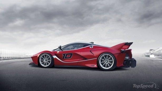 Ferrari'den 1035 beygirlik bomba!