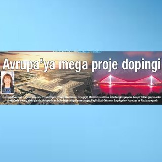 Avrupa'ya mega proje dopingi