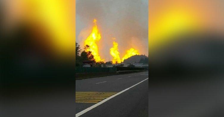 Çin'de doğalgaz boru hattında patlama: 8 ölü, 35 yaralı!