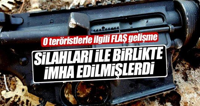 Nusaybin kırsalında öldürülen teröristlerle ilgili flaş gelişme