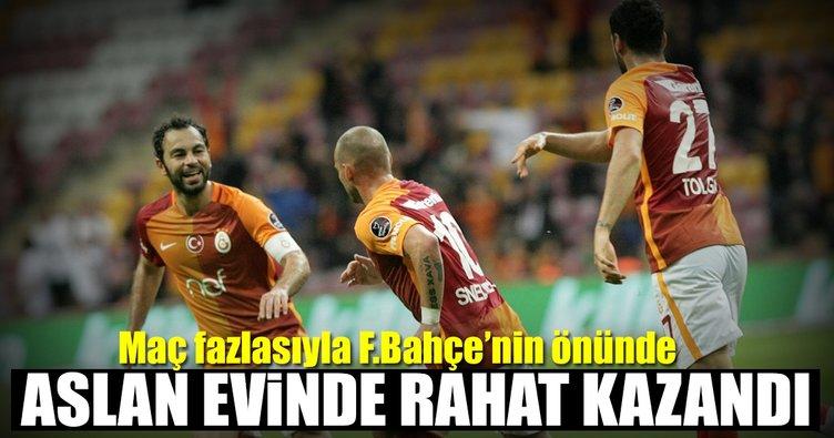 Galatasaray Osmanlıspor'u rahat geçti