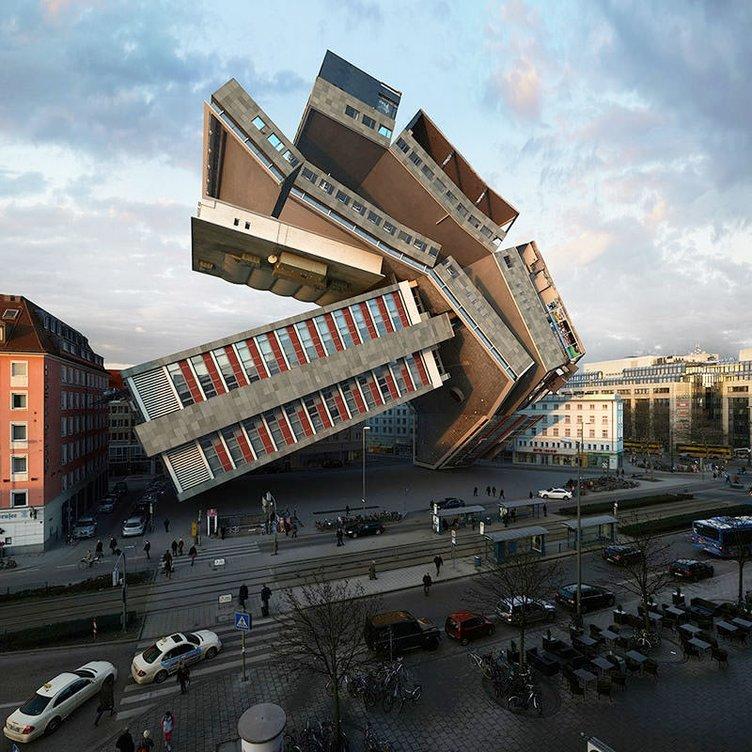 Akıl sınırlarını zorlayan mimari