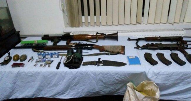 İzmir'de PKK cephaneliği bulundu