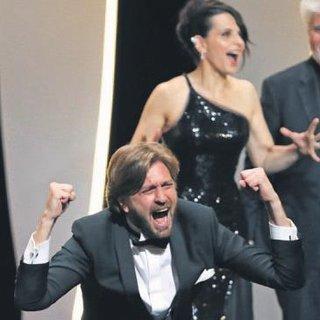 Cannes'da Altın Palmiye İsveçli Ruben'in