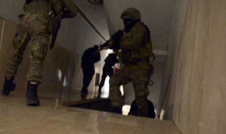 Teröristler bina girişine 'amortisörlü' bomba tuzakladı!