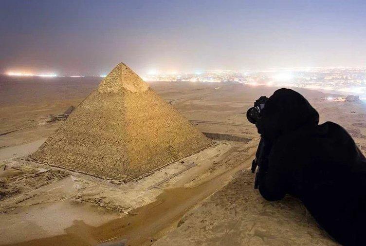 Turistlerin gizlice çektiği muhteşem fotoğraflar