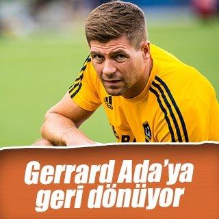 Gerrard, İngiliz futboluna dönüyor