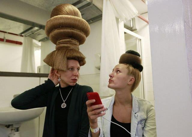 Saç tasarımında çılgın modeller