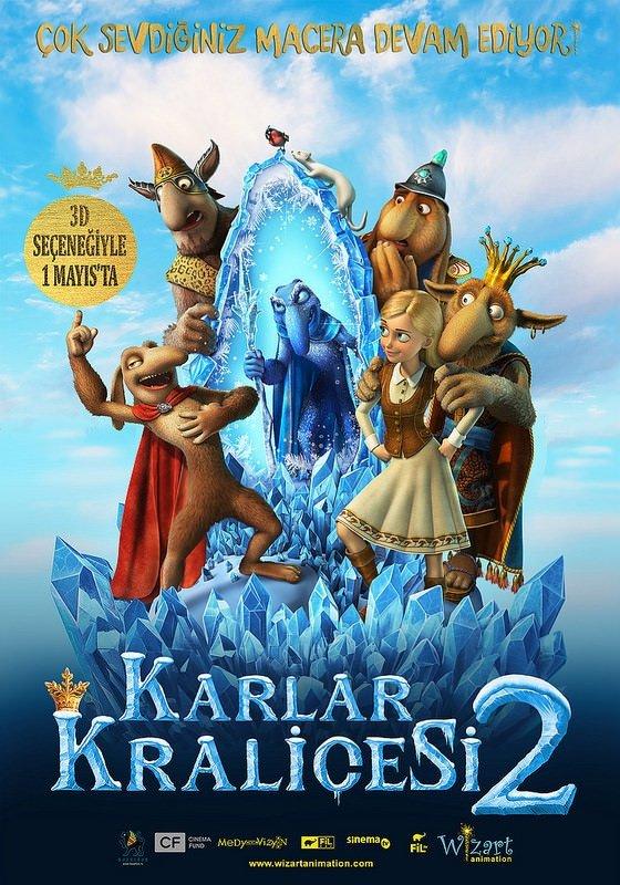 Karlar Kraliçesi 2 filminden kareler