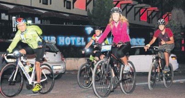 Bisiklet Festivali Kemer'de başladı