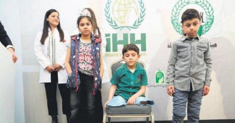 Savaş mağduru çocuklara 3D yazıcıdan protez