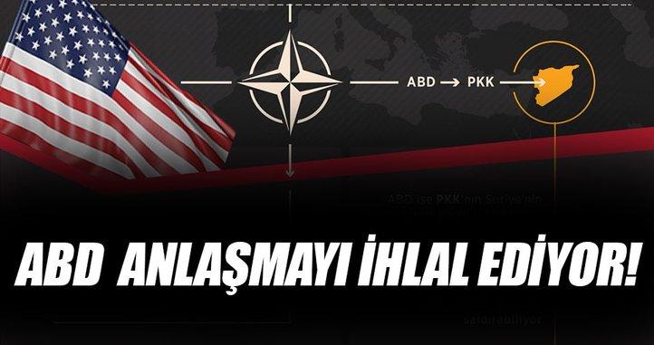 ABD, PYD/PKK ortaklığıyla NATO anlaşmasını ihlal ediyor