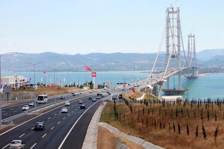Başbakan Yıldırım: Osmangazi'den 8 günde yaklaşık 760 bin araç geçti