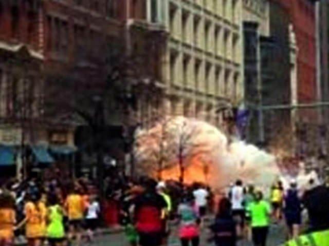 Boston'da maratonda patlama