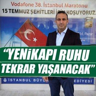 Vodafone 38. İstanbul Maratonu'nda Yenikapı ruhu