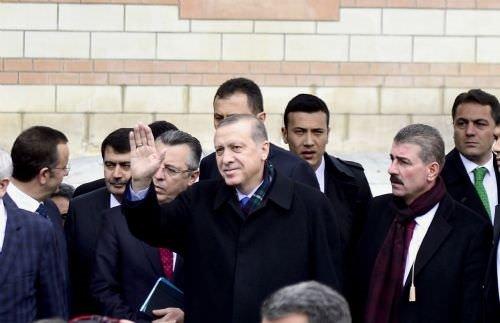 Cumhurbaşkanı Erdoğan eski mahallesinde
