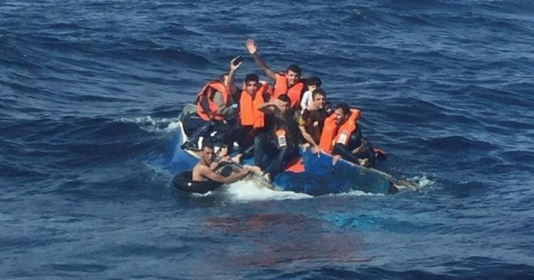 Akdeniz'in batısında kaçak göç dramı