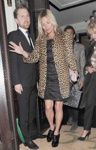 Kate Moss 40 yaşına girdi