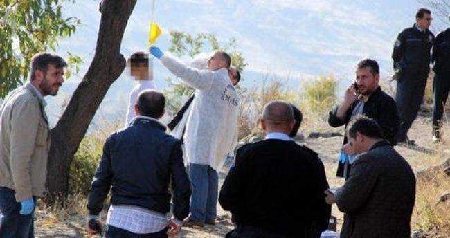 Kayseri'de ağaca asılı erkek cesedi bulundu