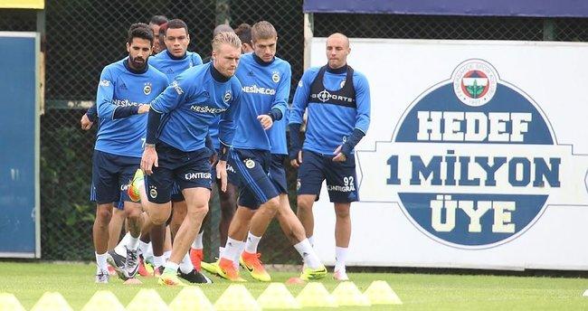 Fenerbahçe Gaziantepspor'a hazırlanıyor