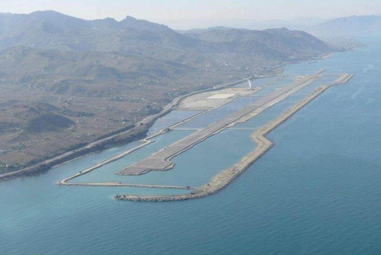 Ordu-Giresun Havaalanı'nın gökyüzü fotoğrafları büyüledi