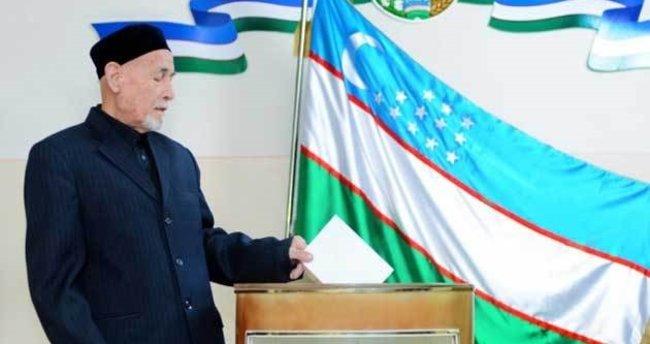 Özbekistan'da cumhurbaşkanı seçimi maratonu başladı